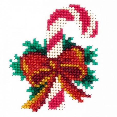 Набор для вышивания бисером LOUISE арт. L410 'Рождество' 11х11
