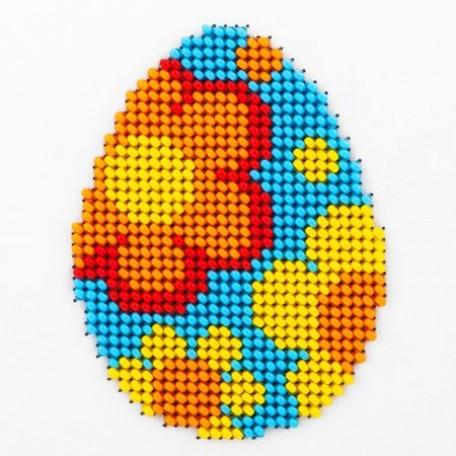 Набор для вышивания бисером LOUISE арт. L427 'Пасхальное яйцо' 11х11