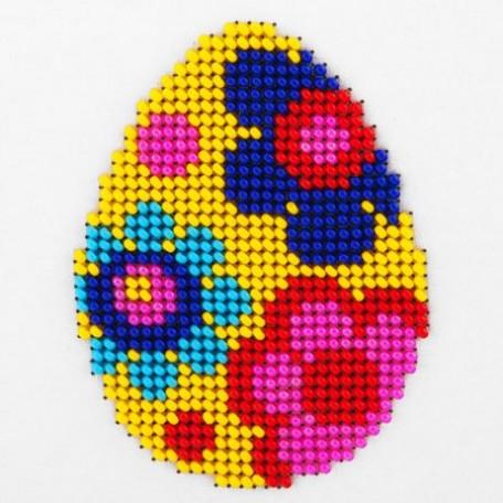 Набор для вышивания бисером LOUISE арт. L429 'Пасхальное яйцо' 11х11