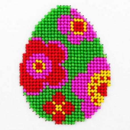 Набор для вышивания бисером LOUISE арт. L431 'Пасхальное яйцо' 11х11