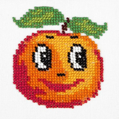 Набор для вышивания бисером LOUISE арт. L434 'Апельсин' 11х11