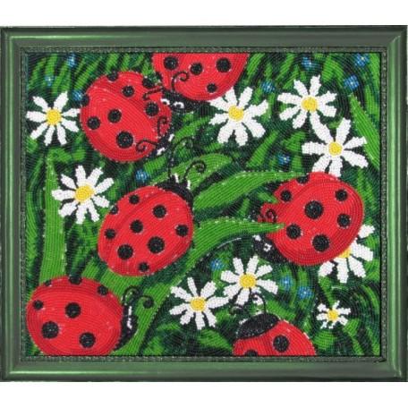 Набор для вышивания BUTTERFLY арт. 104 Солнышки 24х28 см