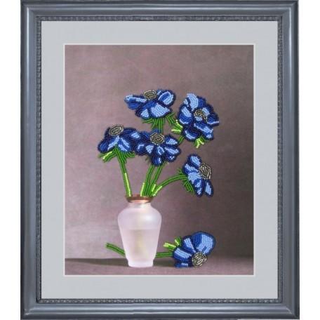 Набор для вышивания BUTTERFLY арт. 202 Синяя мечта 26х23 см