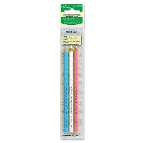 Водорастворимый карандаш 3шт. Clover арт.5003