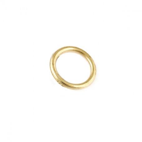 Бусины металлизированные Ideal арт.5022 цв.золото уп.50гр диам.18 мм
