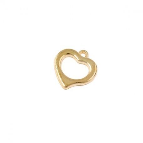 Бусины металлизированные Ideal арт.6046 цв.золото уп.50гр 18х18мм