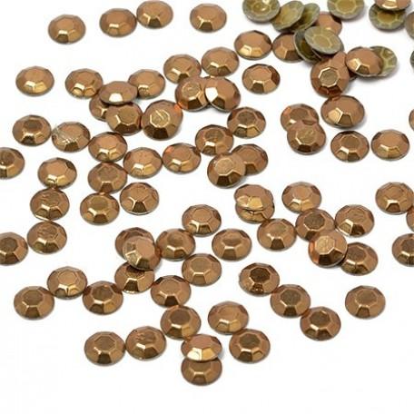 Стразы IDEAL термоклеевые металл арт.HTF-3.SS10 (2,7-2,9 мм) цв.024 уп.1440шт