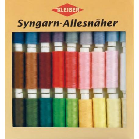 KL.710-13 Набор швейных ниток № 60, 100% полиэстер, 30шт по 100м в упаковке