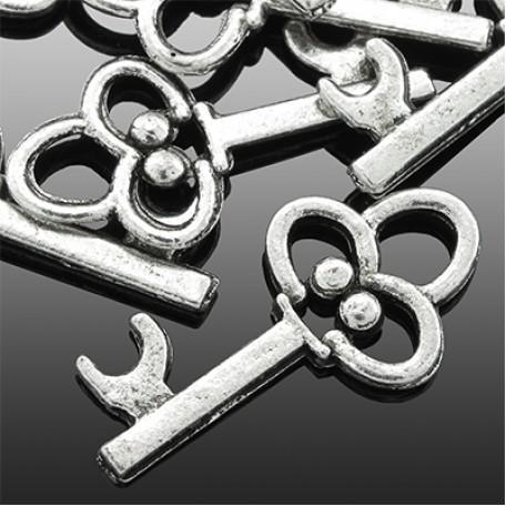 Кулон металл арт. МБ.УТ1992 цв.ант.серебро 19х10 мм 10шт.