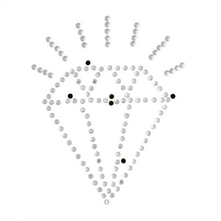 Термотрансферы со стразами арт.ТВД-1613894 уп.Ideal