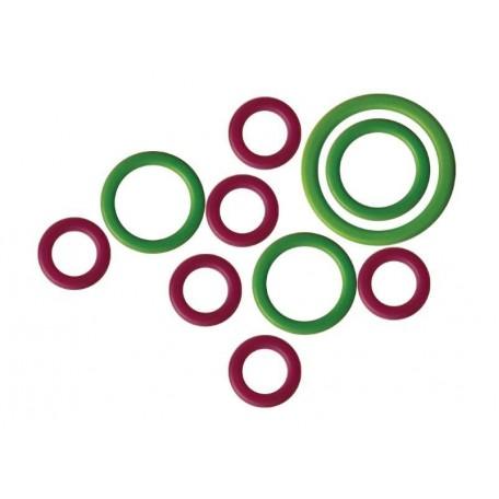 KNPR.10801 Knit Pro Маркировщик для петель 'Кольцо' пластик, зеленый/красный