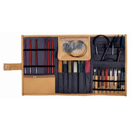 KNPR.10842 Knit Pro Органайзер Rhine Series для съемных спиц 'Bags & Handles' 29*17см