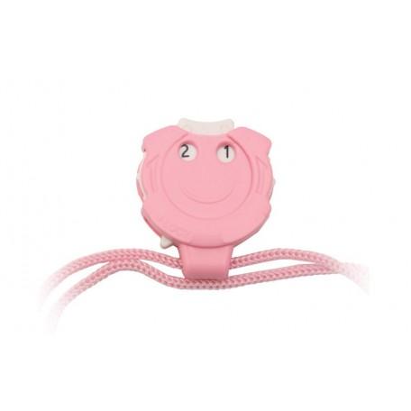 KNPR.10861 Knit Pro Счетчик рядов 'Clicky', пластик, светло-розовый