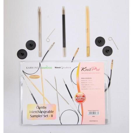 KNPR.20624 Knit Pro Набор 'Set - II' съемных спиц 'Special Sets' 3 вида спиц в наборе