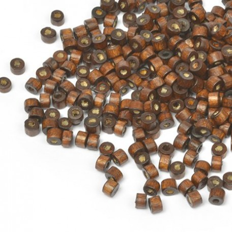 Бусины деревянные MAGIC HOBBY арт.MG-B 474 цв.1 уп.40гр 4мм, in d-2 мм 1490+/-3 шт.
