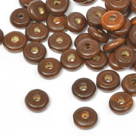 Бусины деревянные MAGIC HOBBY арт.MG-B 482 цв.1 уп.40гр (210+/-3 шт), 4х10мм, in d-2 мм