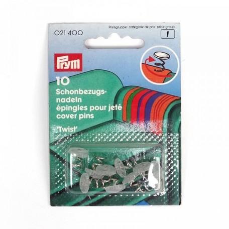 PR.21400 PRYM Булавки специальные для мебельных чехлов, блистер уп.10шт