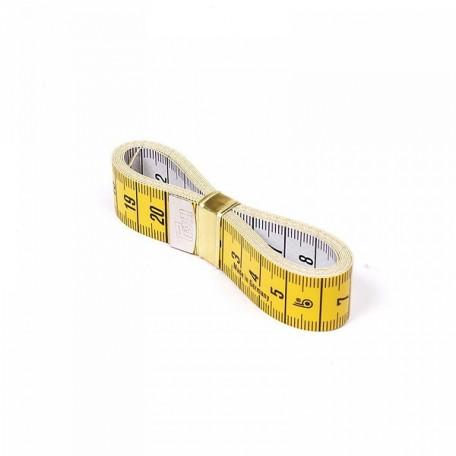 PR.282341 PRYM Измерительная лента с сантиметровой шкалой Юниор 0,3*19*150см цв. желтый/белый уп.1ш