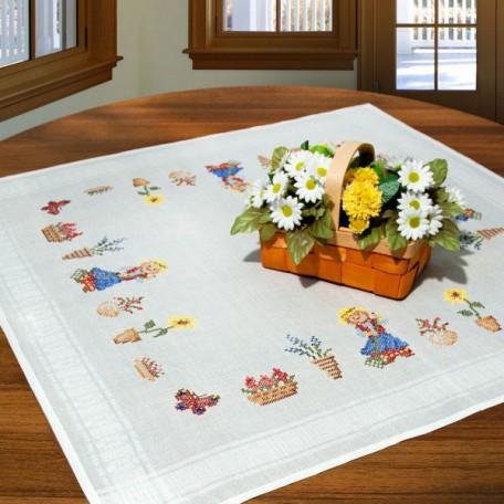 SCH.6779/230 Набор для вышивания скатерти SCHAFER 80*80см