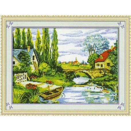Набор для изготовления картины со стразами (мозаика) арт.TBY- 7119 95х72