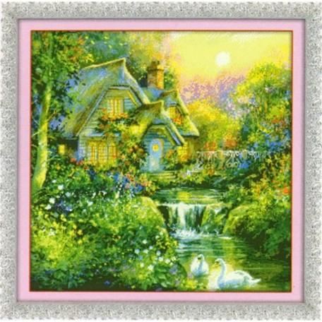 Набор для изготовления картины со стразами (мозаика) арт.TBY- 7195 65х65