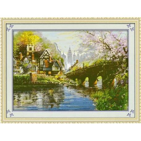 Набор для изготовления картины со стразами (мозаика) арт.TBY- 7437 85х60