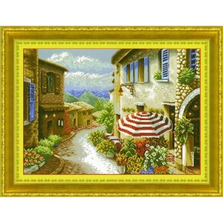 Набор для изготовления картины со стразами (мозаика) арт.TBY- 7681 80х60