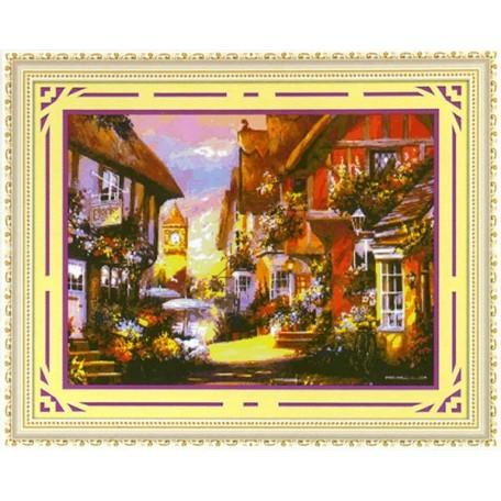 Набор для изготовления картины со стразами (мозаика) арт.TBY- 7858 85х65