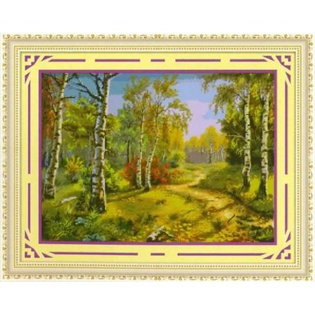 Набор для изготовления картины со стразами (мозаика) арт.TBY- 7895 60х45