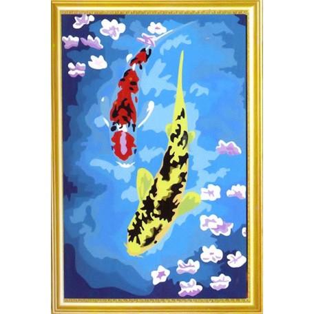 Наборы для раскрашивания арт.TBY-3040028 30х40 см