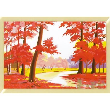 Наборы для раскрашивания арт.TBY-4060001 40х60 см