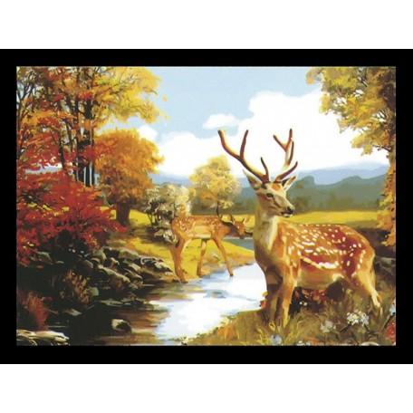Наборы для раскрашивания арт.TBY-5060017 50х60 см