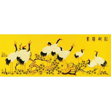 Набор для вышивания лентами арт.TBY- A046 75*170