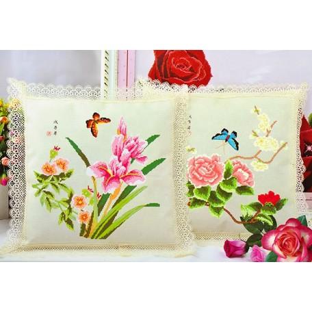 Набор для вышивания арт.TBY-K E 001 45х45 2шт