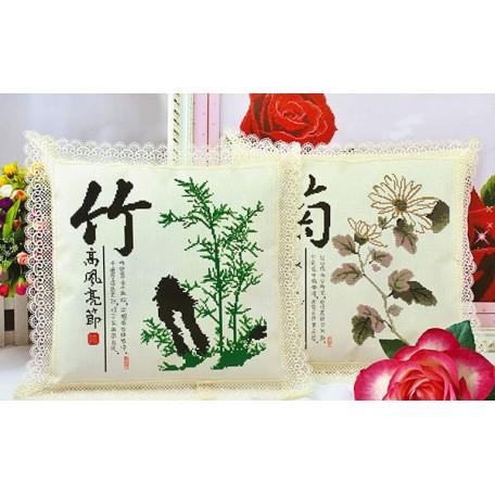 Набор для вышивания арт.TBY-K K 004 45х45 2шт