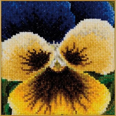 Набор для вышивания арт.Gouverneur-463 'Анютины глазки'