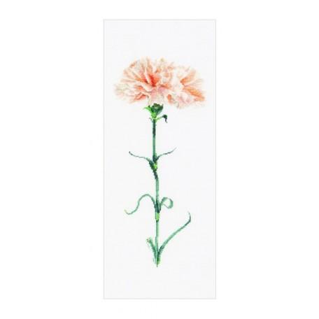 Набор для вышивания арт.Gouverneur-468 'Персиковая гвоздика' 17х42 см