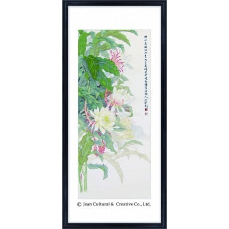 Набор для вышивания крестом Xiu Crafts арт.XC.106 Подлунная краса 38х86 см