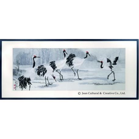 Набор для вышивания крестом Xiu Crafts арт.XC.107 Танцы на снегу 110х42 см