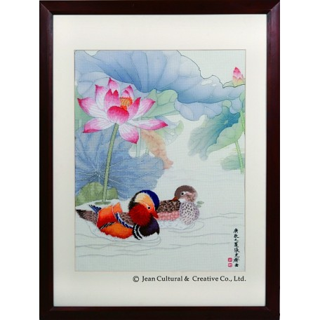 Набор для вышивания крестом Xiu Crafts арт.XC.109 Вечная любовь 47х61 см