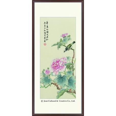 Набор для вышивания крестом Xiu Crafts арт.XC.110 Бархатная роскошь 30х69 см