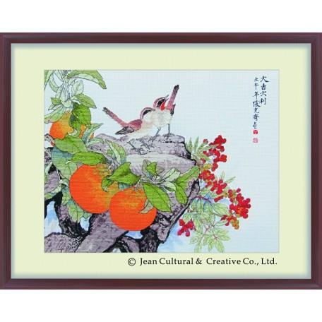 Набор для вышивания крестом Xiu Crafts арт.XC.113 Процветание 46х36 см