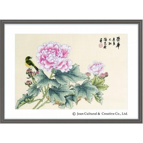 Набор для вышивания крестом Xiu Crafts арт.XC.120 Расцвет 43х29 см