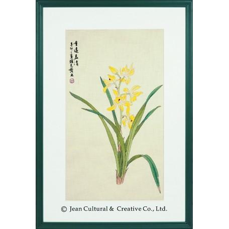 Набор для вышивания крестом Xiu Crafts арт.XC.122 Аромат орхидей 34,29х59,69 см