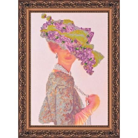 Набор для вышивания бисером АБРИС АРТ арт. AB-012 'Элизабет' 28х40 см