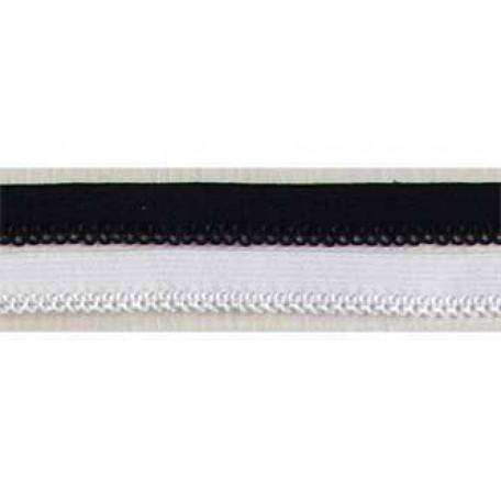 Резинка ажурная 10мм, арт. ТВF-147, цв.белый, упак.100м