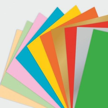 Набор цв. бумаги д/оригами и аппликации арт. ЛХ.ПО-0561 'Африканское путешествие' 300х300 10 цв. 10л