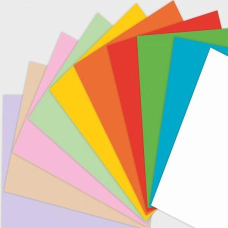 Набор цветной бумаги для оригами и аппликации арт. ЛХ.ПО-9180 'Забавная Панда' А4 10 цв. 10л