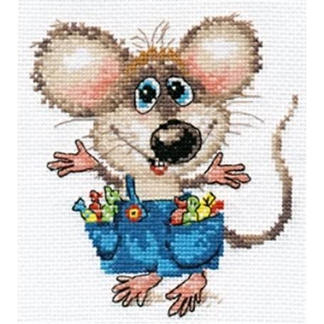 Набор для вышивания арт.Алиса - 0-104 'Будет празник' 12х13 см