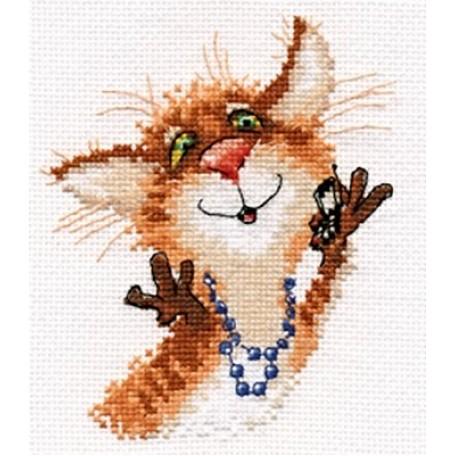 Набор для вышивания арт.Алиса - 0-106 'Алло-о' 12х13 см